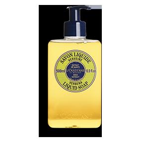 Verbena Shea Butter Liquid Soap (500ml)