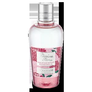 Двофазна олія для ванни Квітка Півонії