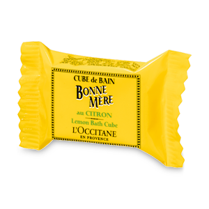 Куб для ванны Лимон