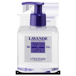 Очищающий гель для рук Лаванда