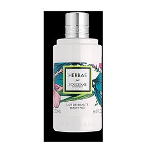 Парфумоване молочко для тіла HERBAE par L'OCCITANE
