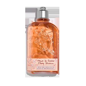 Парфумований гель-піна для душу та ванни Вишневий Цвіт