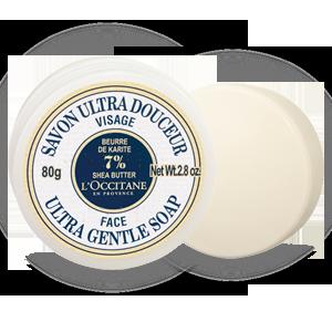 Ультра нежное мыло для лица Карите