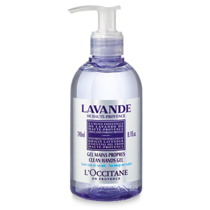 Gel for hand cleaning Lavender