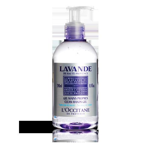 Гель для очищення рук Лаванда