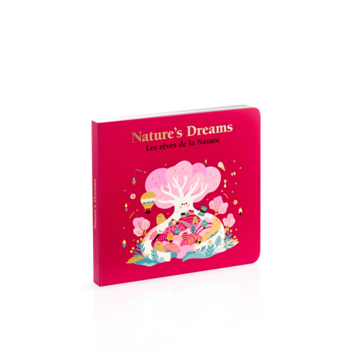 Книга L'Occitane Rêves de la Nature / Nature's Dreams  для дітей та дорослих, які вивчають французьку та англійську мову