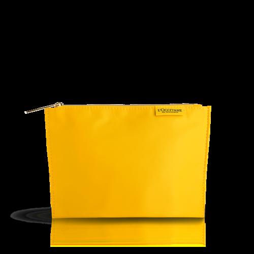 Летняя косметичка жёлтая L'Occitane  2019