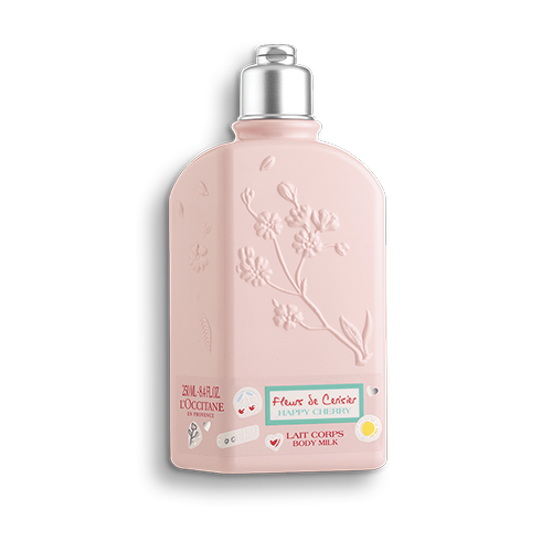 Парфумоване молочко для тіла Вишневий Цвіт HAPPY CHERRY лімітована колекція