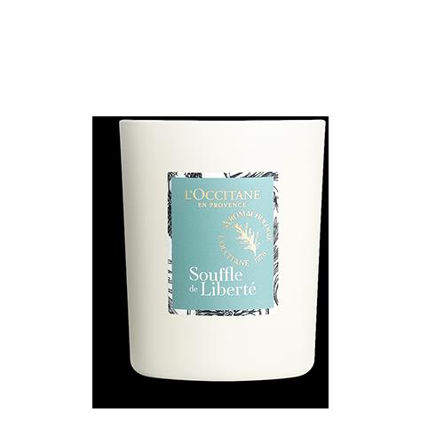 Парфюмированная свеча  ДЫХАНИЕ СВЕЖЕСТИ (Vivifiante Souffle de Liberté)