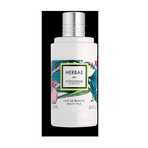 Парфюмированное молочко для тела HERBAE par L'OCCITANE
