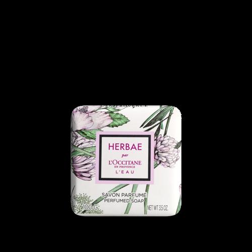 Парфюмированное мыло HERBAE par L'OCCITANE L'EAU