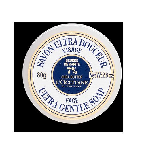 Ультрапитательное мыло  Карите  для лица