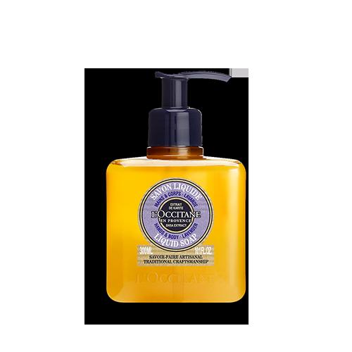 Lavender Shea Butter Liquid Soap Traditional Craftsmanship