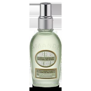 Tinh dầu hạnh nhân giảm sần vỏ cam trên da - Almond Tonic Body Oil: