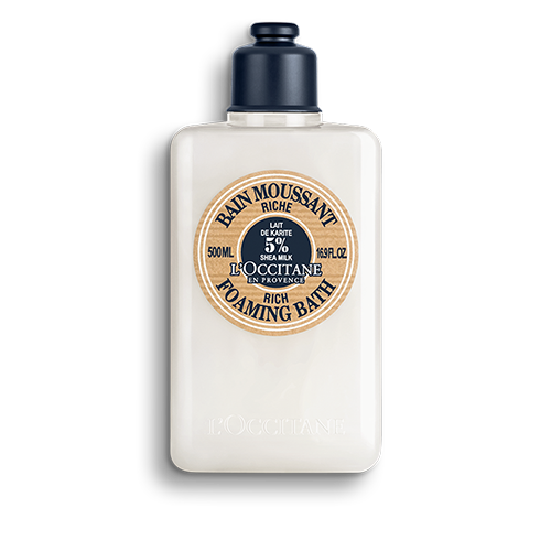 SHEA BUTTER FOAMING BATH