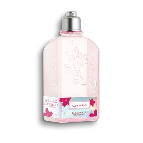 CHERRY BLOSSOM CERISIER IRISÉ SHOWER GEL