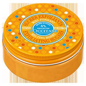乳木果蜂蜜輕盈磨砂霜