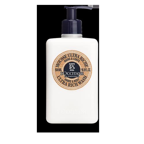 乳木果豐凝洗手沐浴潔膚乳