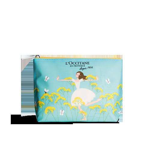 蠟菊插畫化妝包