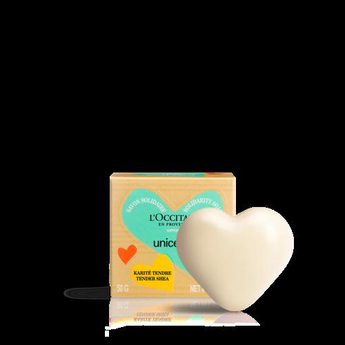 Unicef乳油木牛奶公益皂