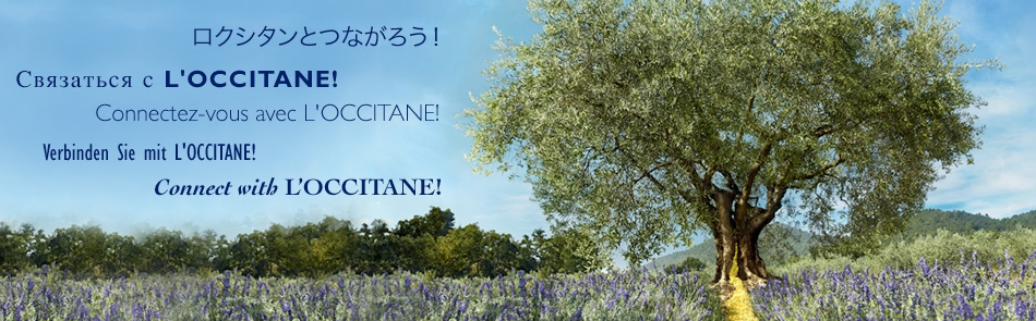 Connect with L'OCCITANE!