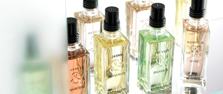 Fragrance Collection By Product Type From L Occitane