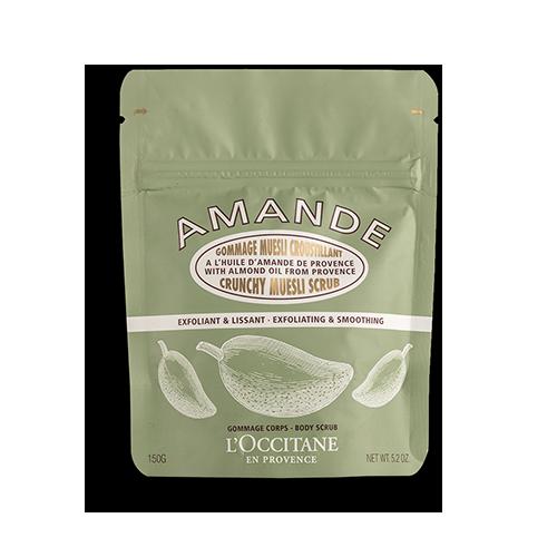 Almond Crispy Muesli Scrub - Badem Müsli Vücut Peelingi  150 g