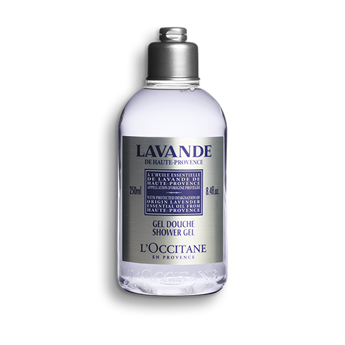 Lavender Certified  Shower Gel