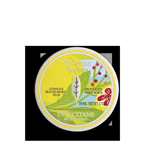 Lahodný scrub Citrus Verbena
