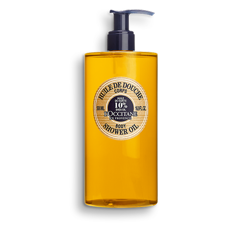 Sprchový olej Bambucké máslo