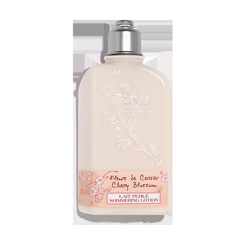 Třpytivé tělové mléko Třešňový květ