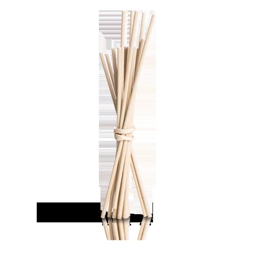 15 Bambusstäbchen