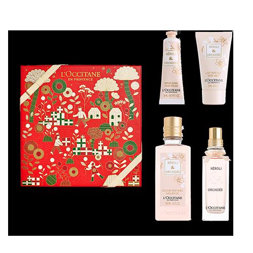 Duft-Geschenkbox Neroli & Orchidee