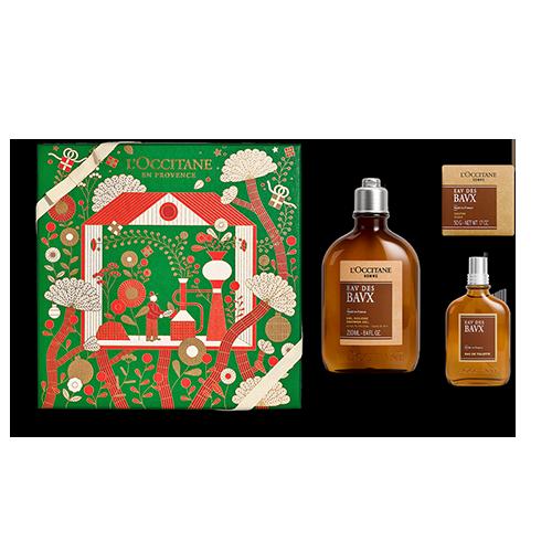 Duft-Geschenkbox Männer Baux