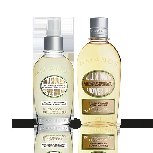 Duo Mandel Dusch- und Körperöl