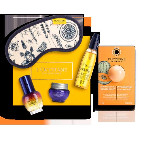Gesichtspflege-Geschenkbox Immortelle Reset Augenserum