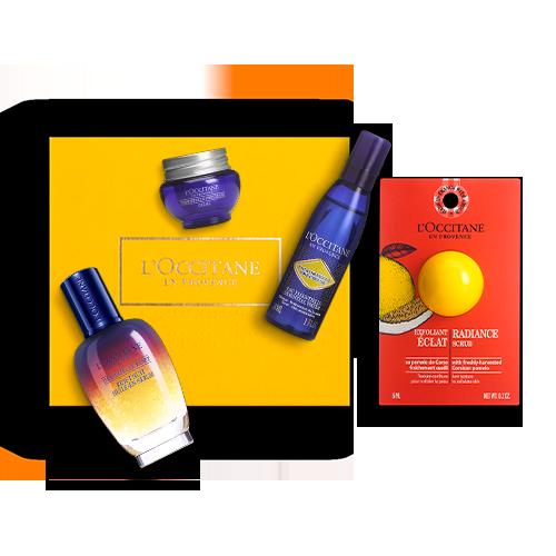 Gesichtspflege-Geschenkbox Immortelle Reset Öl-in-Serum
