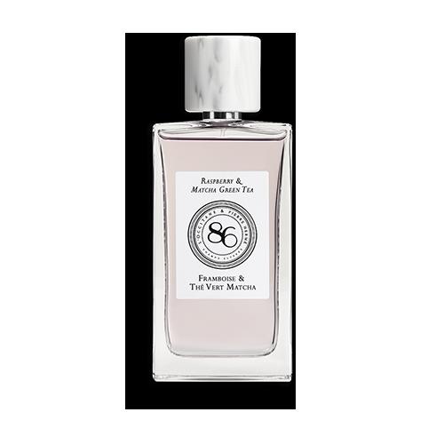 Eau de Parfum Himbeere und Matcha Grüntee