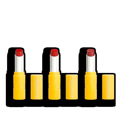 Make-up-Trio Intensive Fruchtige Lippenstifte
