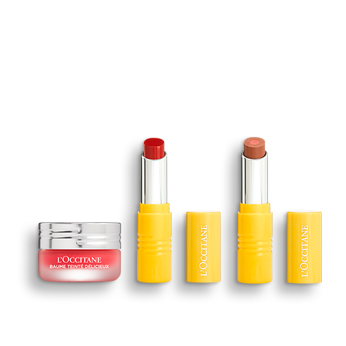 Make-up-Trio Lippenbalsam & Lippenstifte