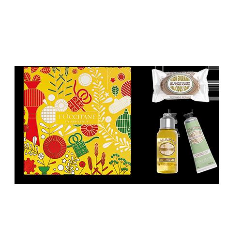 Mandel Körperpflege Kennenlern-Geschenkbox