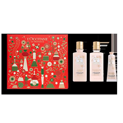 Neroli & Orchidee Sanfte & Blumige Körperpflege-Geschenkbox