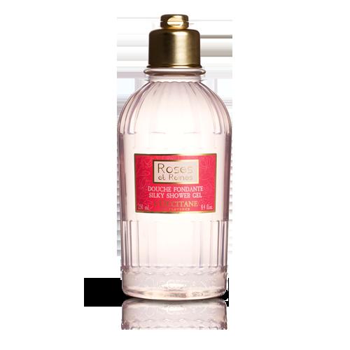 Samtiges Duschgel Rose 250 ml