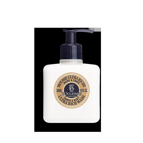 Sheabutter Ultra Riche Hand- & Körperwaschlotion 300ml