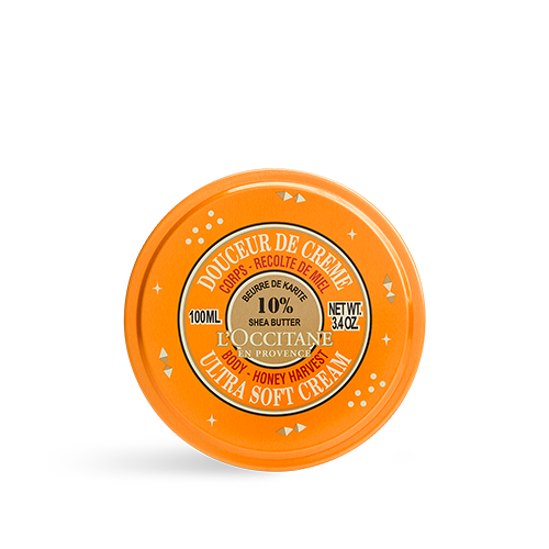 Sheabutter Ultra-softe Körpercreme limitierte Edition Honigernte 100ml