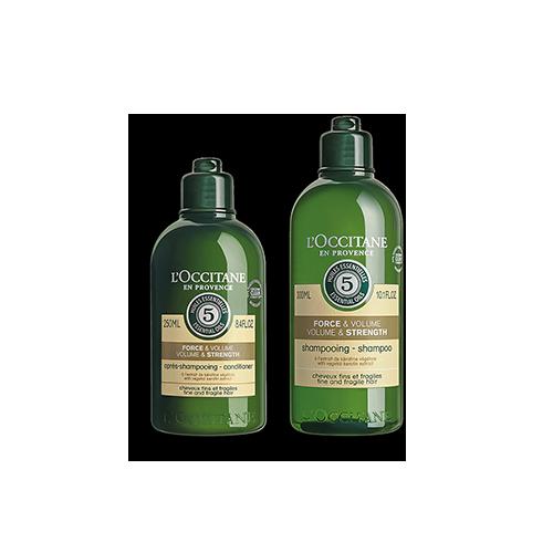 Duo Kraft & Volumen Shampoo und Haarspülung