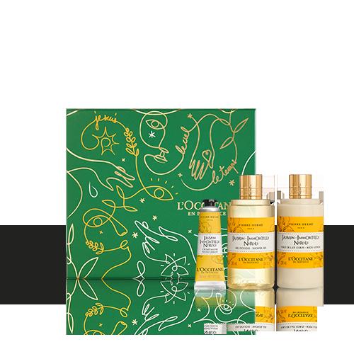 Körperpflege-Geschenkbox Jasmin Immortelle Neroli – Blumig & Sinnlich