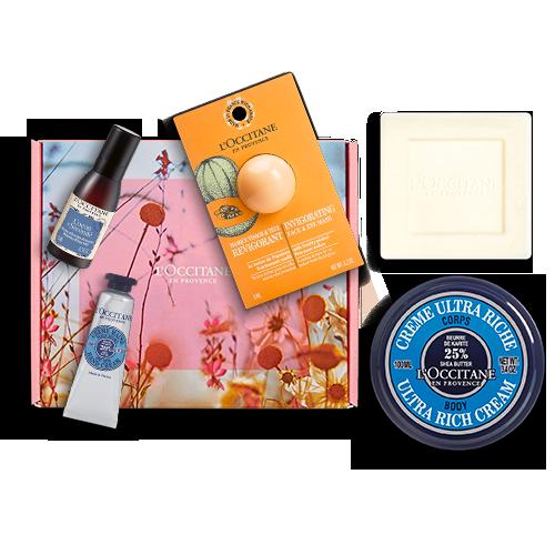 Geschenkbox Pflege-Essentials