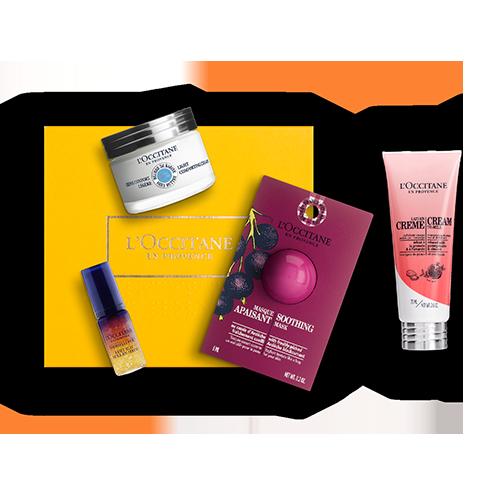 Gesichtspflege-Geschenkbox Shea - Feuchtigkeitspflege