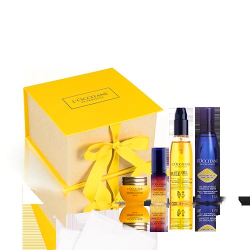 Kennenlern-Geschenkbox Immortelle Divine – Anti-Aging-Gesichtspflege